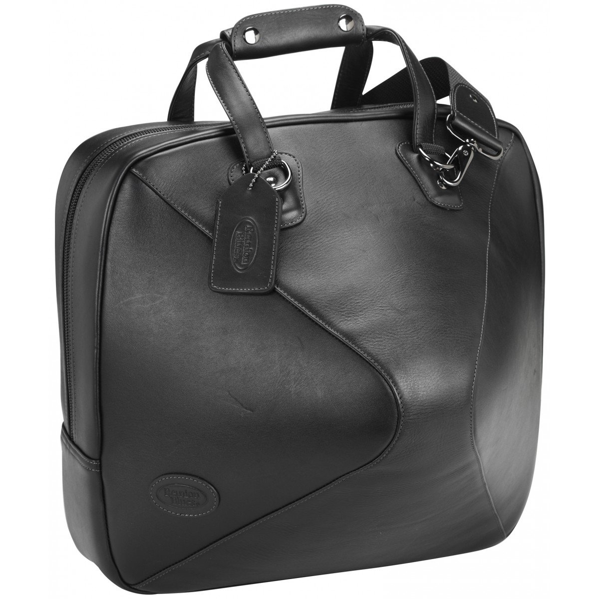 Reunion Blues French Horn Bag - Detachable Bell, Black Leather Ace Products Group 565-15-29