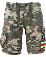 JET LAG Cargo Shorts SO16-22 army green camouflage USA