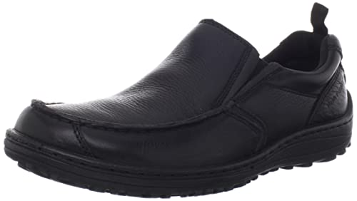 Hush Puppies Belfast - Mocasines para hombre, color Negro, talla 43 EU: Amazon.es: Zapatos y complementos