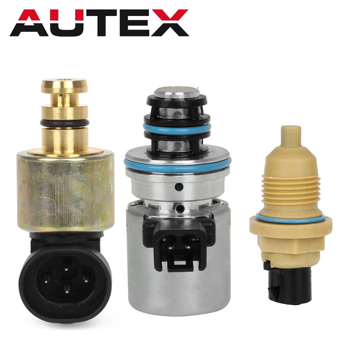 AUTEX 44RE 46RE 47RE Transmission EPC Solenoid Governer Pressure Sensor Output Speed Sensor Kit for 1996-1999 Chrysler Dodge & Jeep by AUTEX