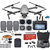 DJI Mavic 2 PRO Drone Quadcopter Fly More Combo with Hasselblad Camera, with Smart Controller, 3 Batteries, Case, ND…