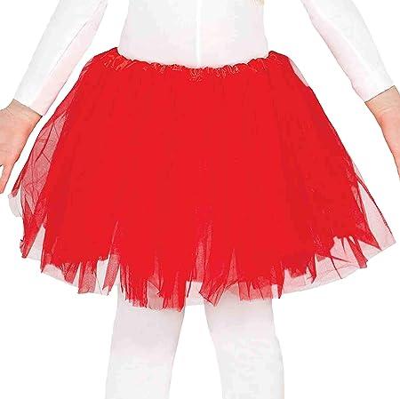 design di qualità 120f5 f579c Guirca Gonna Tulle Rossa cm.30: Carnival T.: Amazon.it: Casa e cucina