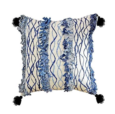 Amazon.com: YoTreasure - Almohada decorativa de algodón ...