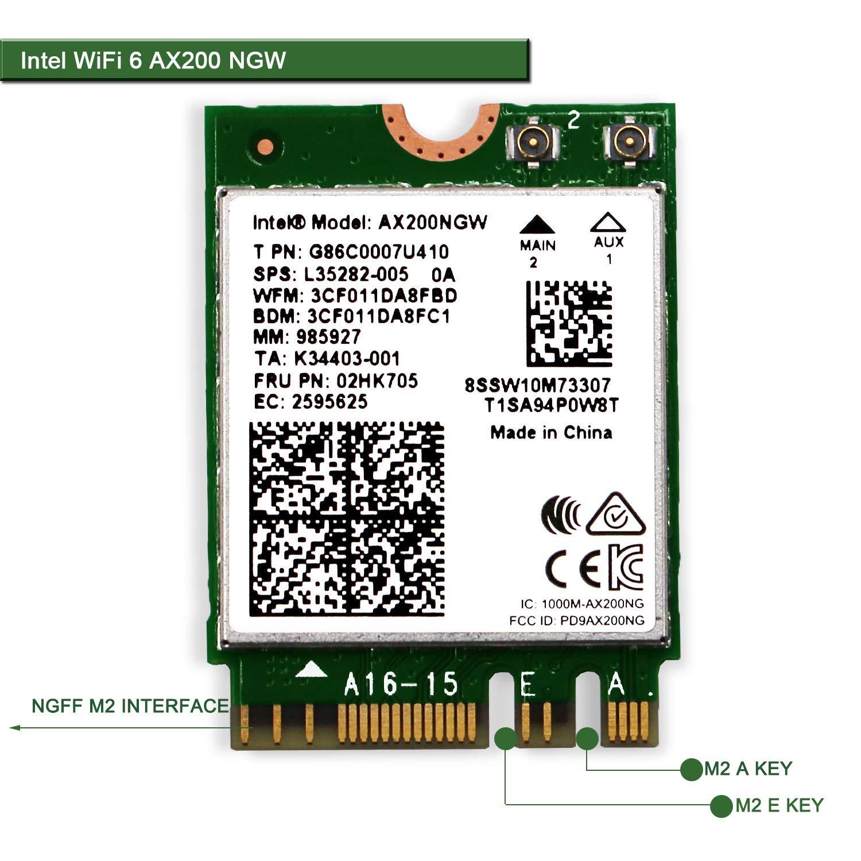 Módulo wifi PCI en placa CNVIO