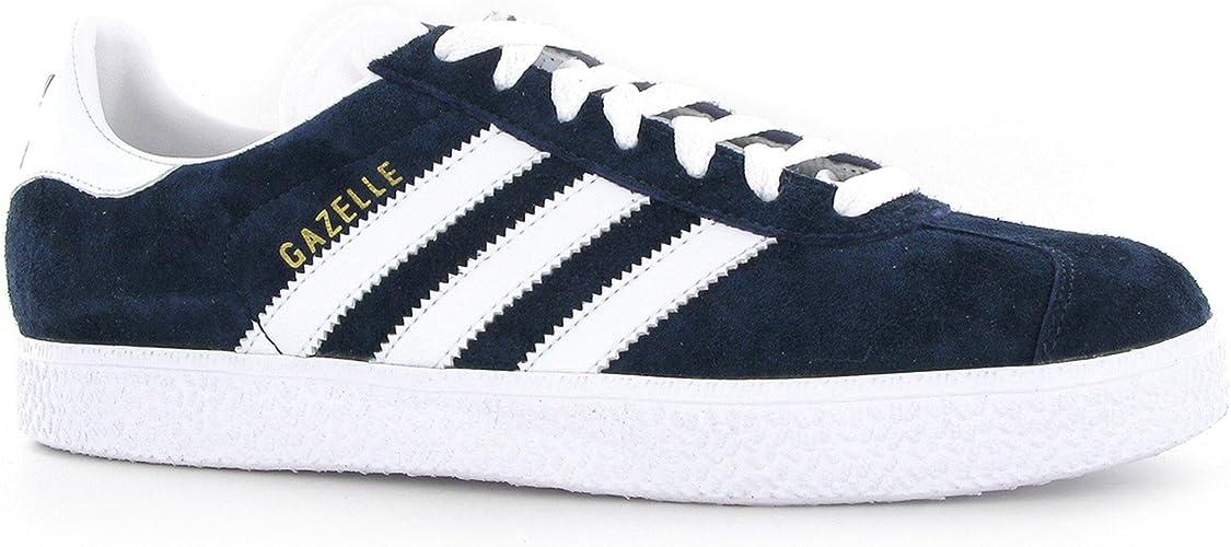 Adidas Gazelle II Blue White Suede Mens