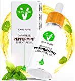 Peppermint Essential Oil Natural Pure Therapeutic Oils Not Food Grade Glass Dropper Bottle Aromatherapy Undiluted Above Organic Rosemary Jojoba Home Care Now Living Solutions Cleaner Bug Repellent 4oz