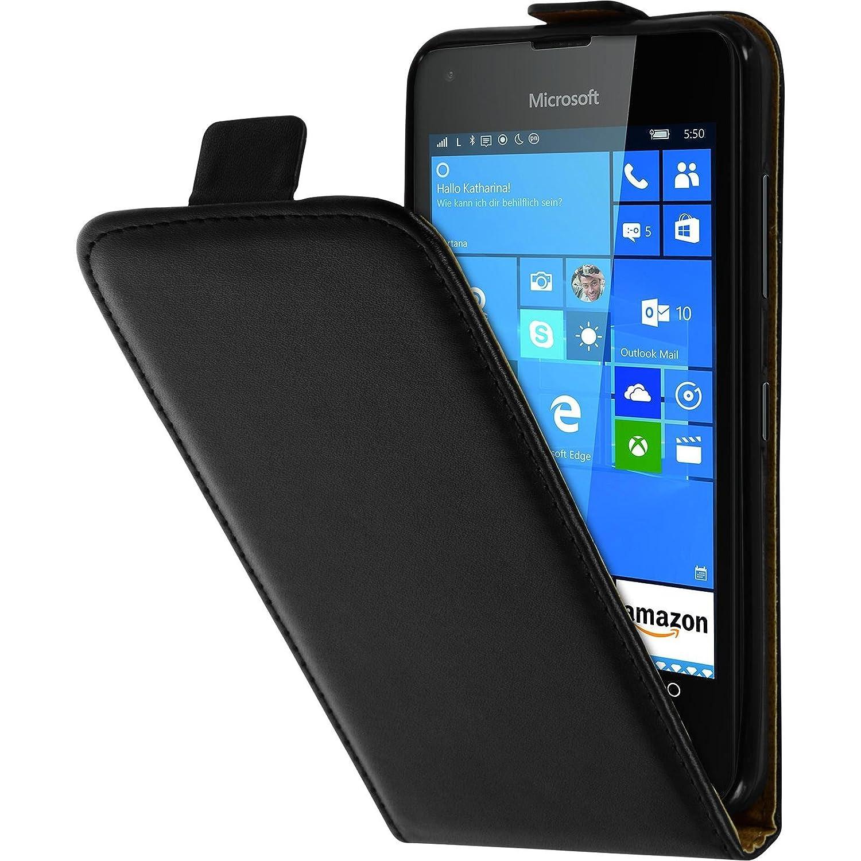 PhoneNatic Cubierta de Cuero Artificial Compatible con Microsoft ...