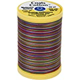 Coats Cotton Machine Quilting Multicolor Thread 1200yd Sherbert 073650915161