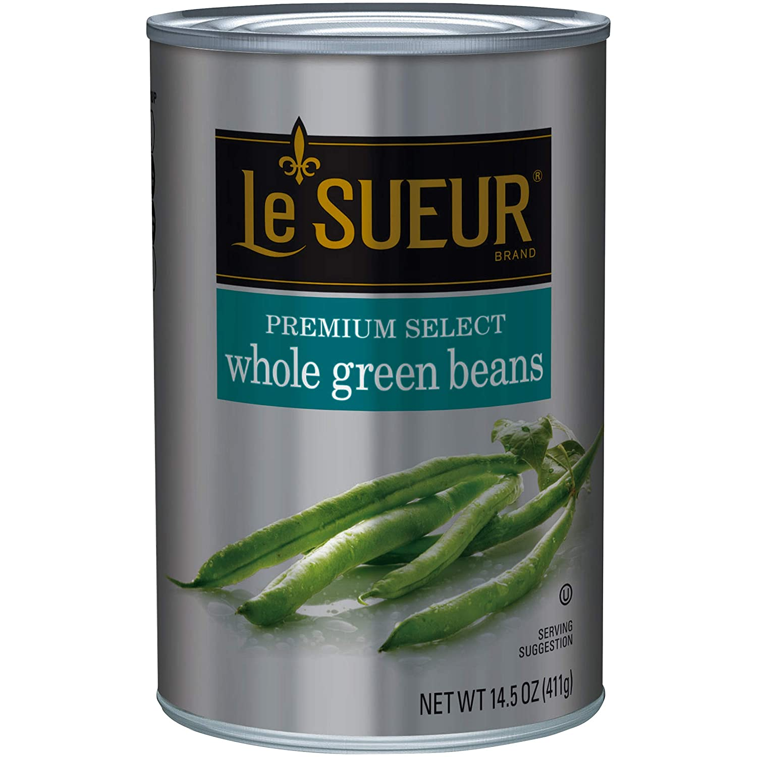 Le Sueur Premium Select Whole Green Beans, 14.5 Ounce (Pack of 12)