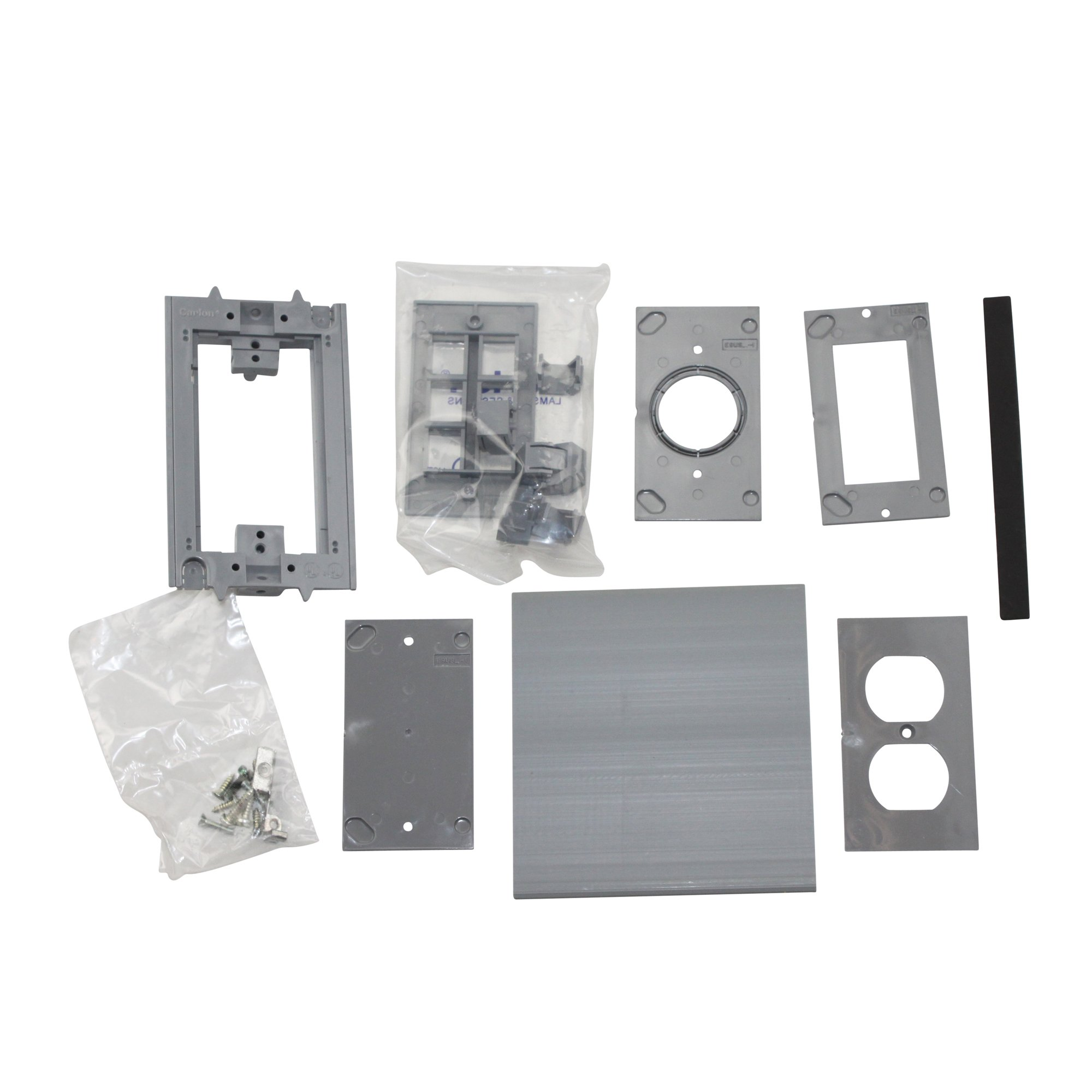 Thomas & Betts E976AK2 Floor Box Activation Cover Kit 2, Rect. (Pack Of 3)