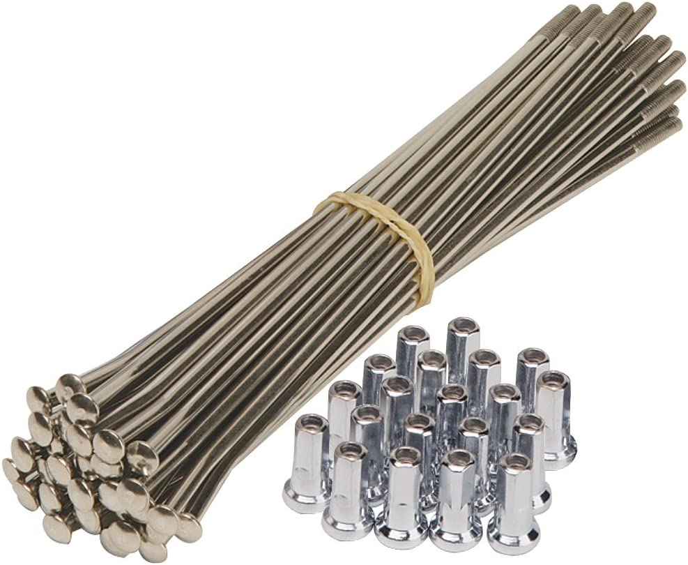 Buchanans KSUZ507SH Stainless Steel Spoke Kit with Nipples