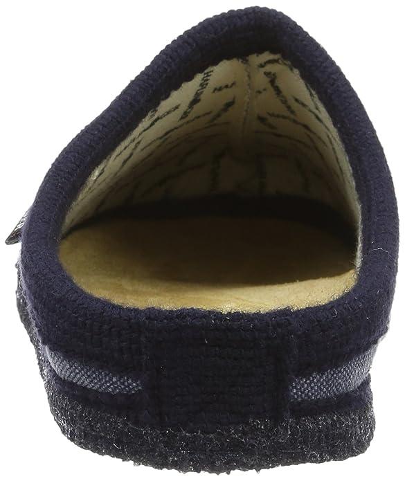 Haflinger Unisex-Erwachsene Kreta Pantoffeln, Blau (Ocean), 44 EU