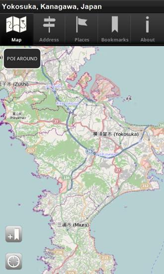 Amazon com: Offline Map Yokosuka, Kanagawa, Japan - CNM