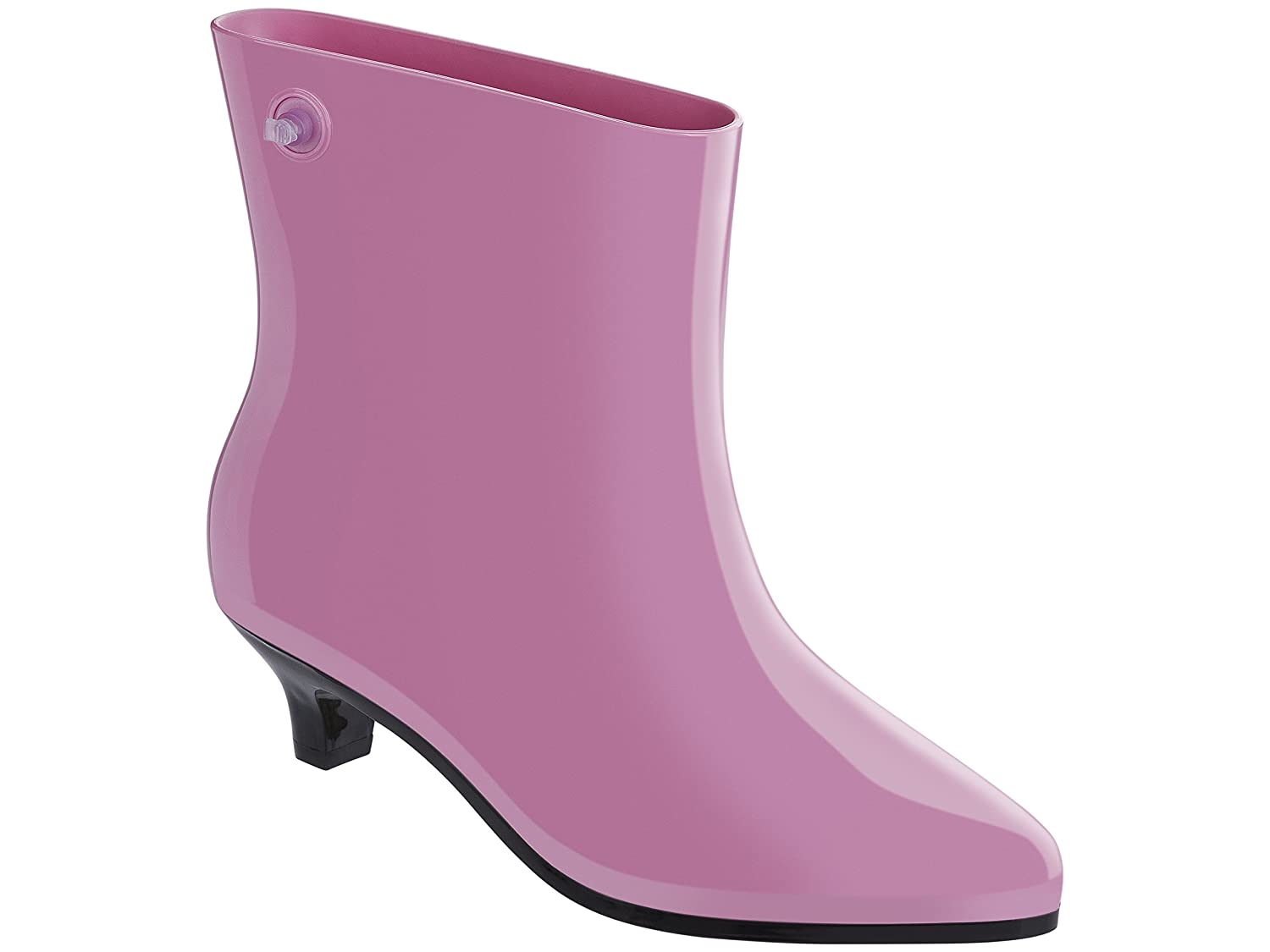 Melissa Womens Ankle Boot + JS Boot, Yellow B01KVTFCSO 7 B(M) US|Pink