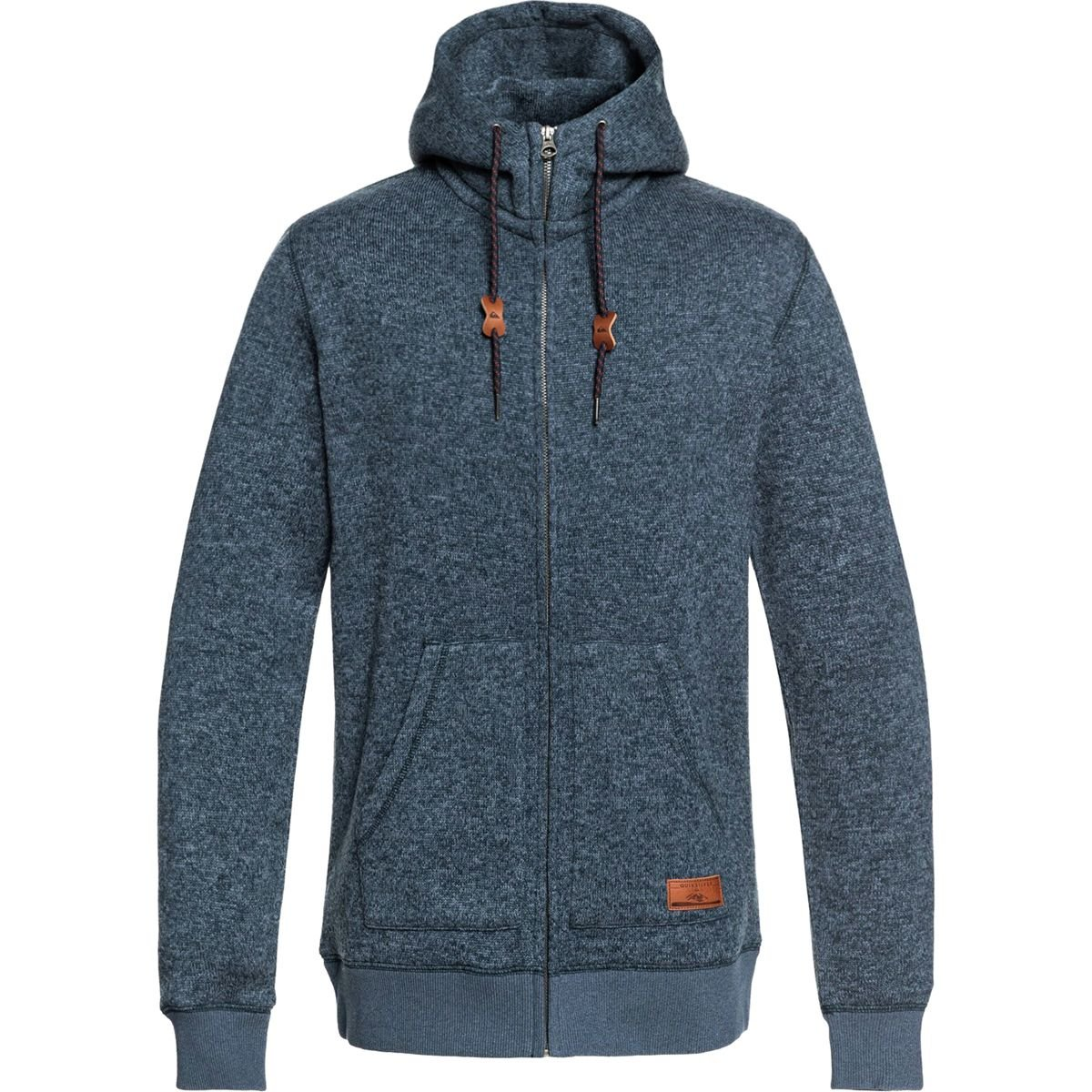 Quiksilver Men's Keller Zip Up Hoodie Jacket EQYFT03835