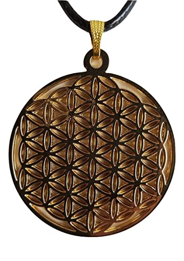 Amazon flower of life pendant necklace gold jewelry flower of life pendant necklace gold aloadofball Choice Image