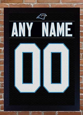 SGH SERVICES Carolina Panthers casa Kit Personalizado Personalizar Jersey Camiseta añadir un Nombre añadir un número