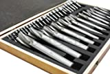 AccusizeTools - 39 Pcs/Set HSS Interchangeable