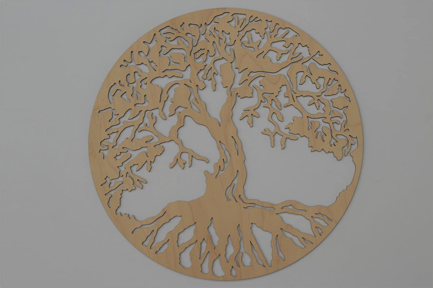 Tree Of Life Round 3d 22 Wooden Wall Art Home Decor Wedding Gift Made In The Usa Beautiful Mother S Day Gift Handmade