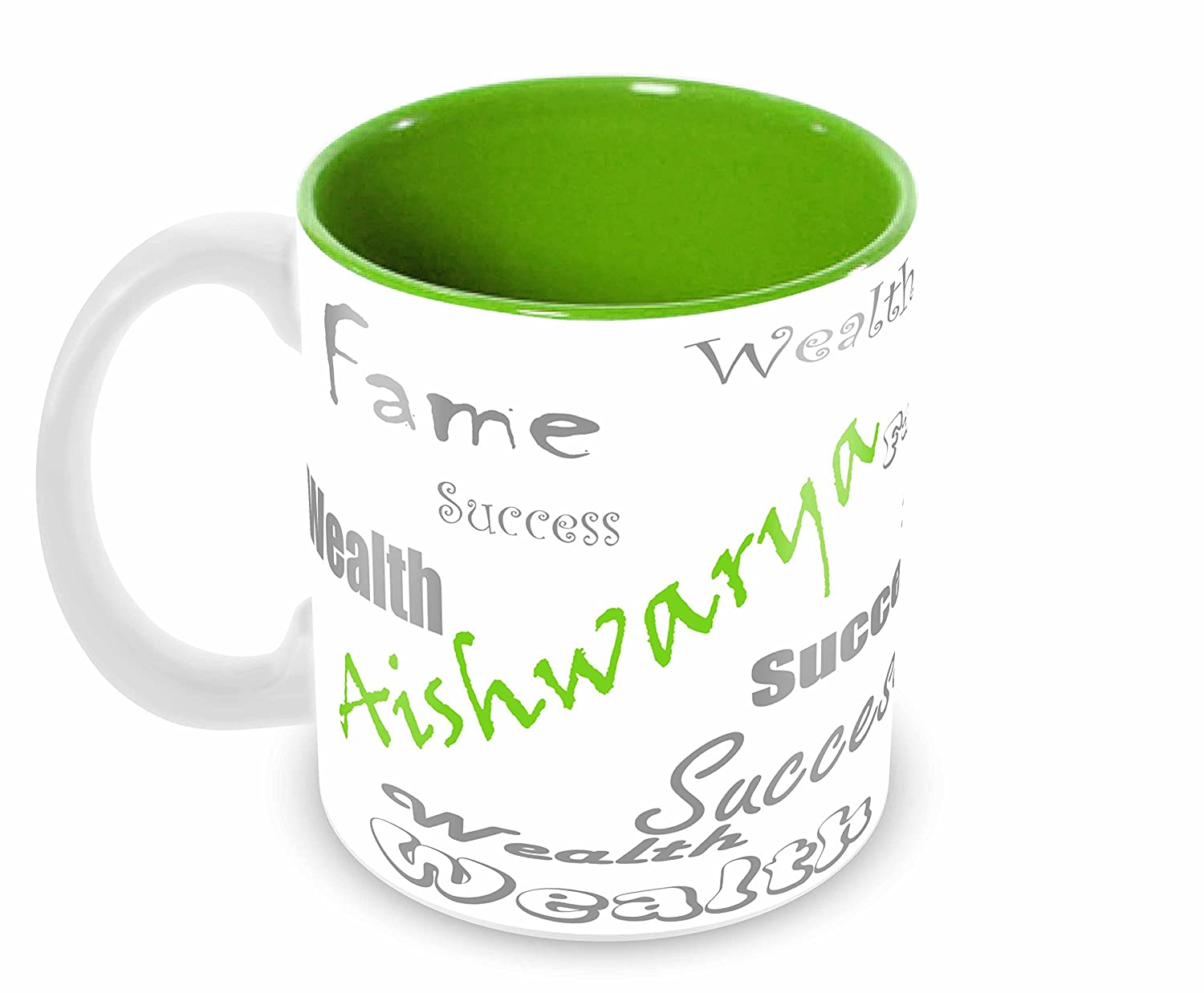 Buy Tuelip Stylish Customize Name Aishwarya With Meaningful Printed Ceramic Tea And Coffee Ceramic Mug 350ml Green Online At Low Prices In India Amazon In A famous bearer is the indian actress aishwarya rai bachchan (1973 tuelip stylish customize name aishwarya with meaningful printed ceramic tea and coffee ceramic mug 350ml green