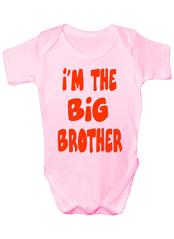 I'm The Big Brother Funny Babygrow Babies Gift Boy/Girl Vest Babies