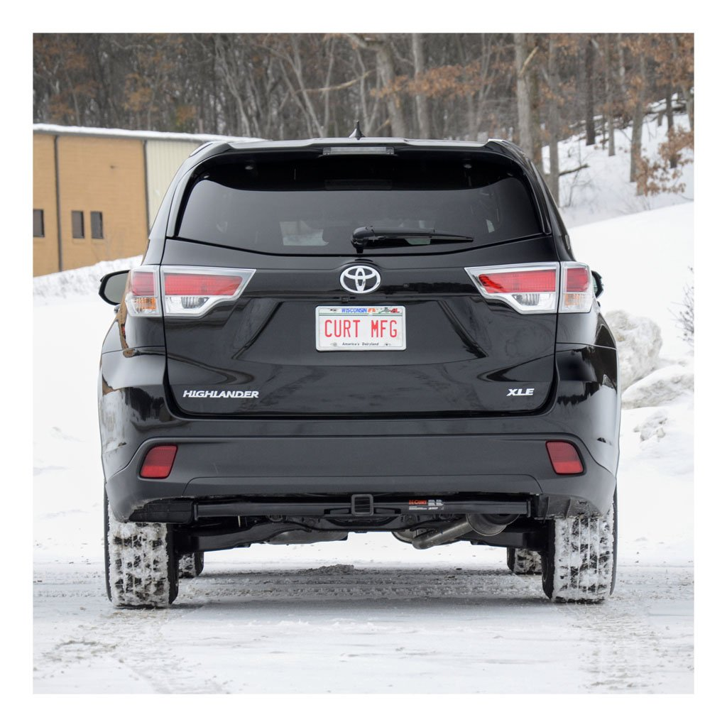 Amazon.com: CURT Class 3 Trailer Hitch Bundle with Wiring for 2014-2016 Toyota  Highlander - 13200 & 56217: Automotive