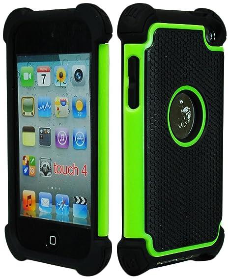 Bastex Híbrida Funda para Apple iPod Touch 4, 4th generación - Verde ...
