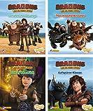 Nelson Mini-Bücher: 4er Dreamworks Dragons 5-8