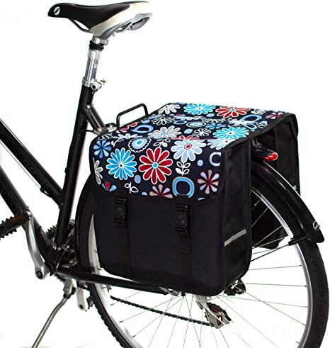 BikyBag Clásica - Doble Alforjas Bolsa para Bicicleta (Margarita ...