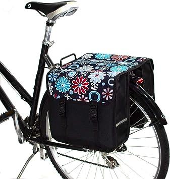 BikyBag-Beluko Clásica Doble Alforjas Bolsa para Bicicleta ...