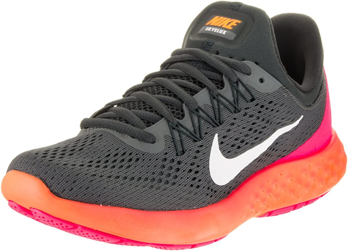 Nike Womens Lunar Skyelux Round Toe Lace-up Running Shoes