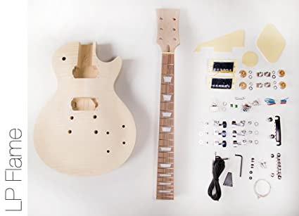 Amazon diy electric guitar kit lp style build your own guitar diy electric guitar kit lp style build your own guitar kit solutioingenieria Image collections