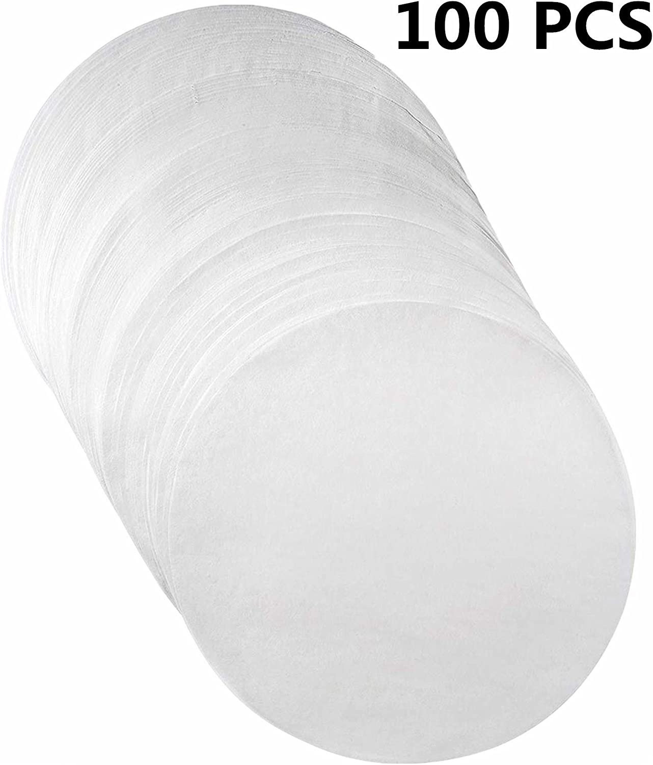 Parchment Paper Baking Circles - 9 inch - 100 Eco-Friendly Pack - Baking Paper Liners, Cooking,Oven, Air Fryer, Cheesecake and Round Cake Pans