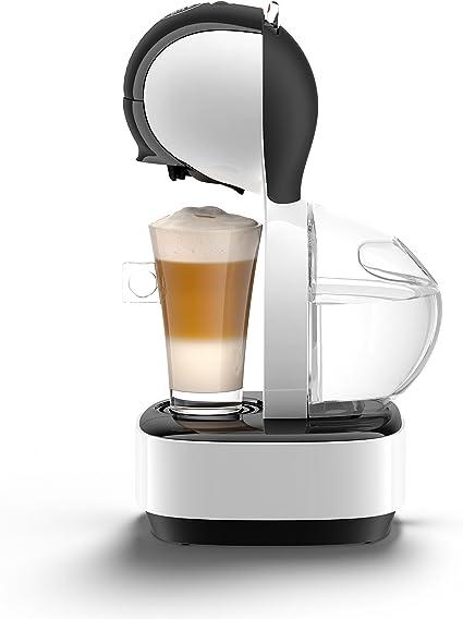 Krups Dolce Gusto Lumio KP1301 - Cafetera de cápsulas, 15 bares de presión, color blanco: Amazon.es: Hogar