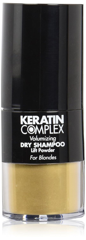 Keratin Complex Volumizing Dry Shampoo Lift Powder - Blonde by Keratin for Unisex - 0.31 oz Powder. 094922020703