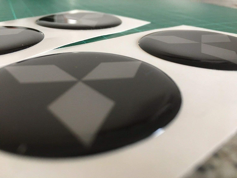 SCOOBY DESIGNS Mitsubishi Alloy Wheel Centre CAPS Domed