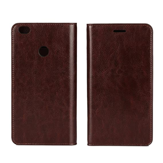 separation shoes c0222 e63be Xiaomi Mi Max Case, iCoverCase Crazy Horse Pattern Genuine Leather Case  [Wallet Function] Flip Stand Cover with Card Slot for Xiaomi Mi ...