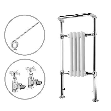ENKI radiador para calefacción central toallero doble combustible 963 x 493 mm