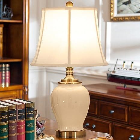 Vory Bandera de cerámica lámpara de Mesa Dormitorio Decoración ...