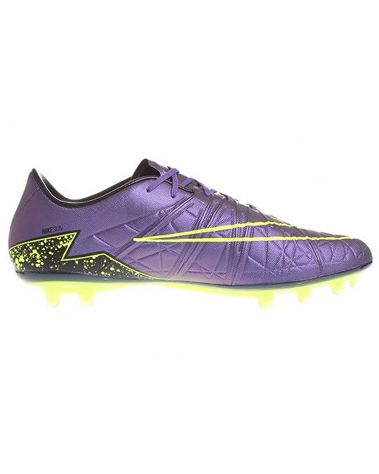 f2b0b774b Amazon.com | Nike Men's Hypervenom Phinish (FG) - (Hyper Grape/Black/Volt)  (10.5) | Soccer