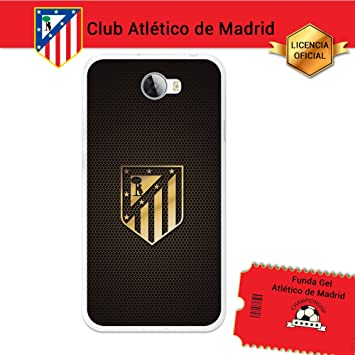 Atlético de Madrid Funda Gel Flexible Huawei Y5II, Carcasa ...