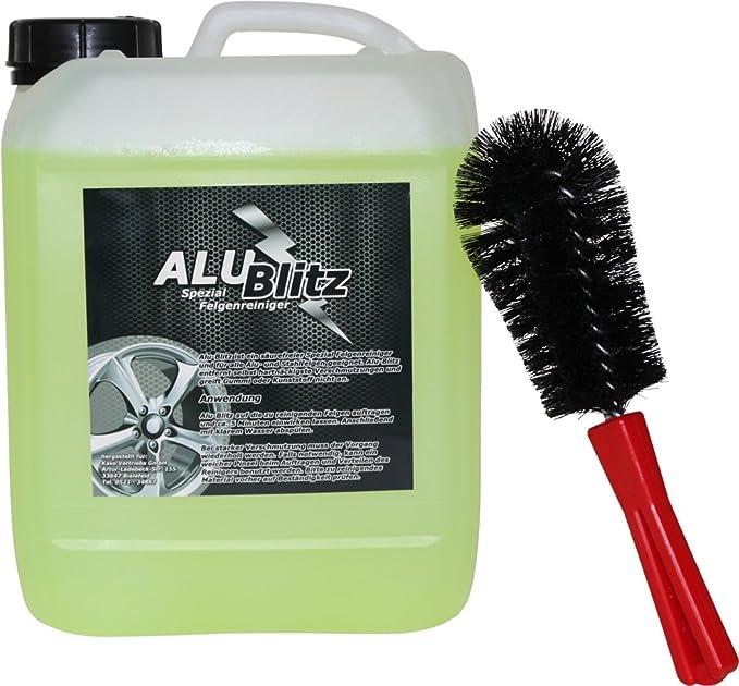 Alu Blitz Spezial Felgenreiniger 5 Liter Felgenbürste Auto