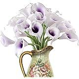 TININNA Lily Calla Artificielle PVC Fleurs Artificielles Bouquets Réel Touch Décoration Fleurs Pour DIY Mariage Partie