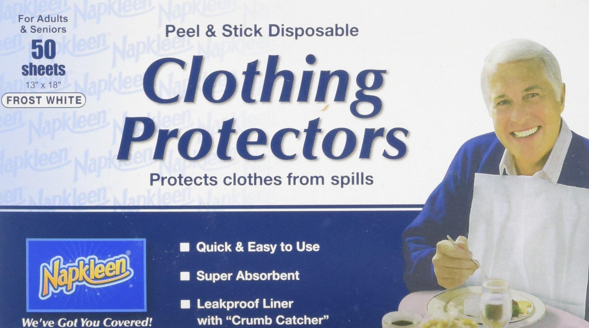 Napkleens Disposable Adult Bib, Case Pack