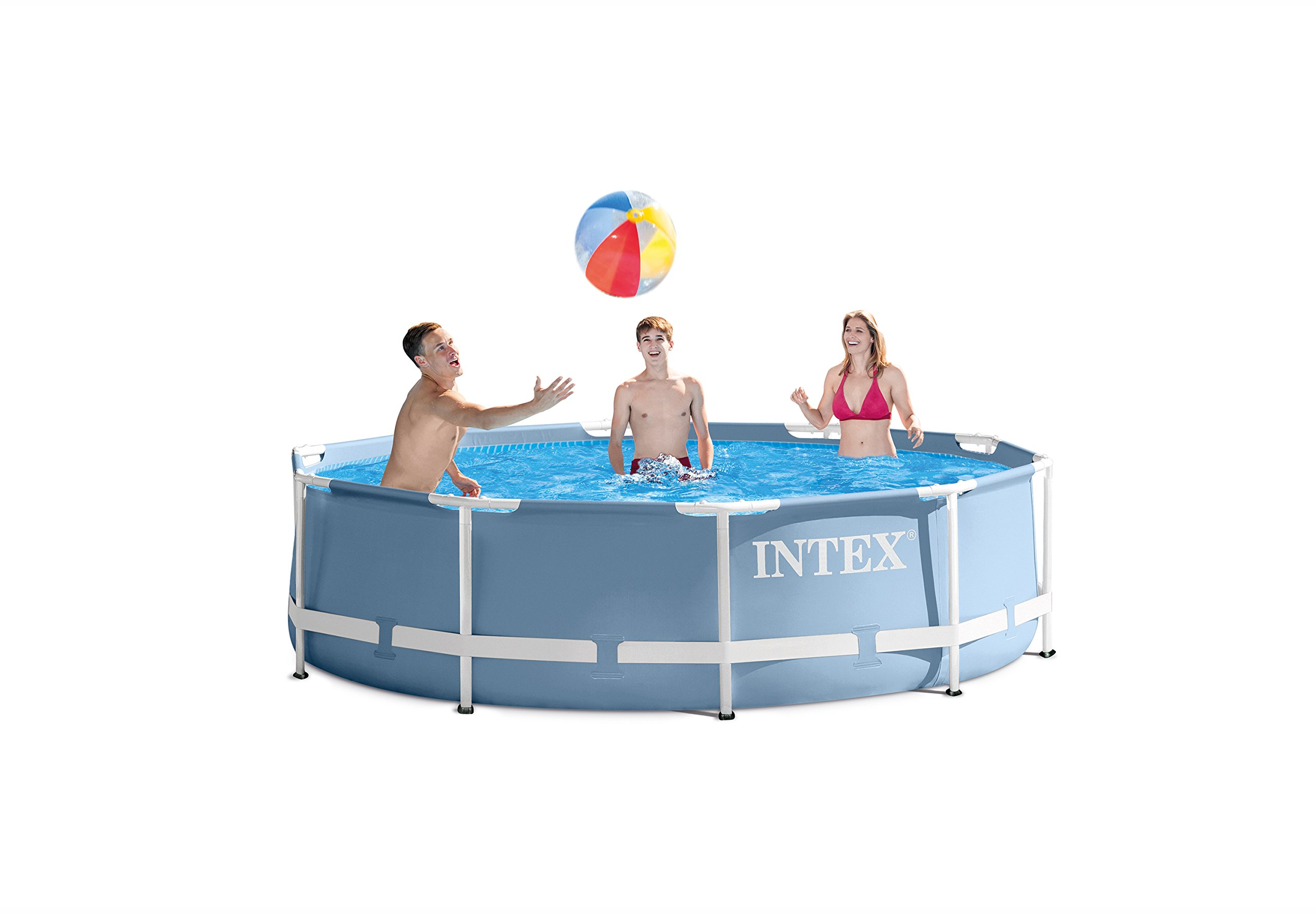 Intex 12ft X 30in Prism Frame Pool Set with Filter Pump by INTEX (Image #2)