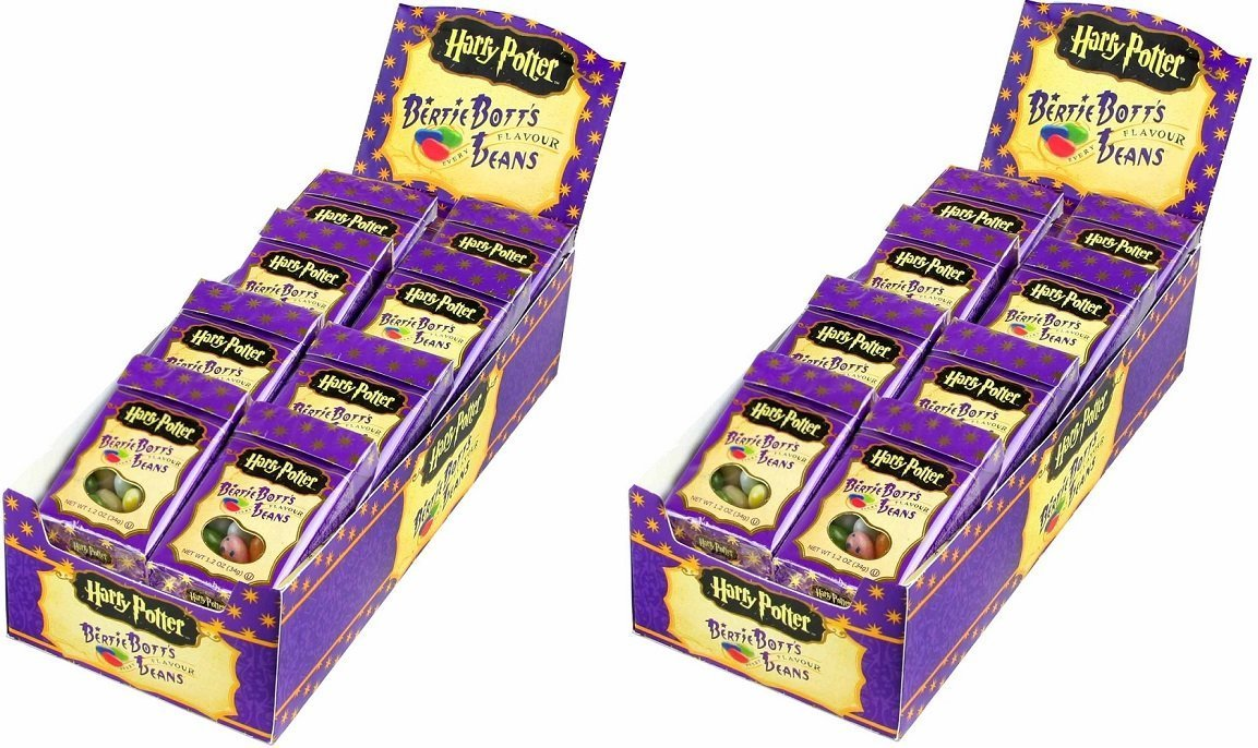 Bertie Bott's Every Flavour Beans - 1.2 oz boxes - 24-Count Case (Pack of 2) by Bertie Bott's (Image #1)
