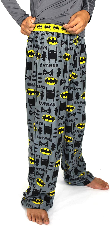 Batman Boy's Flannel Pajama Pants (Little Kid/Big Kid)