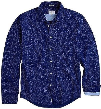 Pepe Jeans Camisa Darren Azul Hombre: Amazon.es: Ropa y