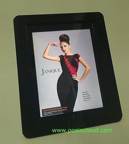 iPad 2//3//4 Clear Acrylic Security VESA Enclosure w Wall Mount Kit