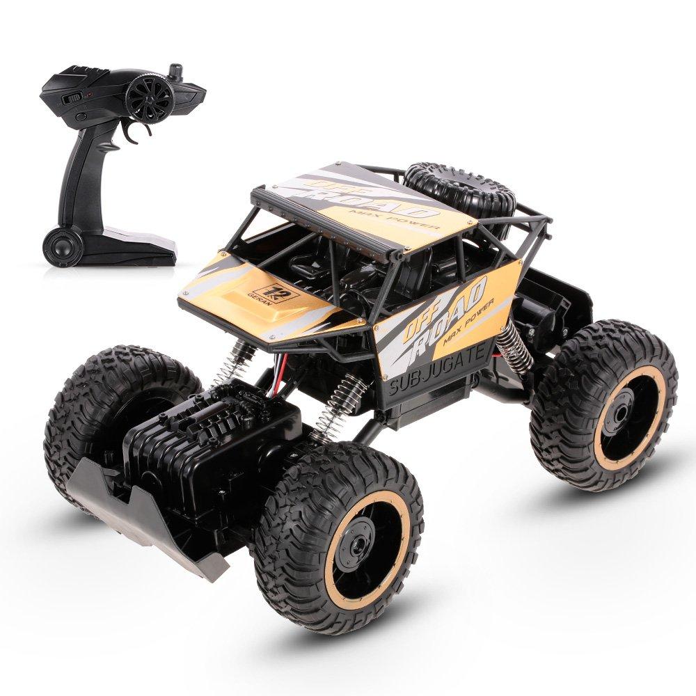 Goolsky HAOJUN 8819 1 12 2.4G 4WD 20KM   h Lega ad alta velocità Karting Rock Crawler fuoristrada auto RC